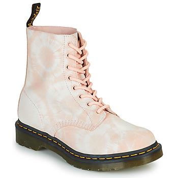 Pantofi Femei Ghete Dr Martens 1460 PASCAL Bej