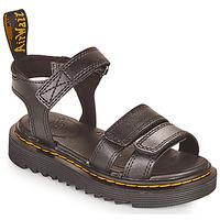 Pantofi Fete Sandale  Dr Martens KLAIRE J Negru