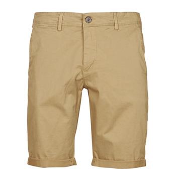 Îmbracaminte Bărbați Pantaloni scurti și Bermuda Teddy Smith SHORT CHINO Bej