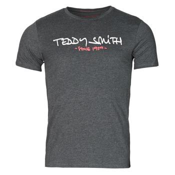 Îmbracaminte Bărbați Tricouri mânecă scurtă Teddy Smith TICLASS Gri / Culoare închisă