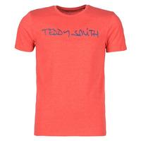 Îmbracaminte Bărbați Tricouri mânecă scurtă Teddy Smith TICLASS Roșu
