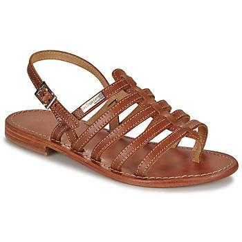 Pantofi Femei Sandale și Sandale cu talpă  joasă Les Tropéziennes par M Belarbi HERISSON Tan