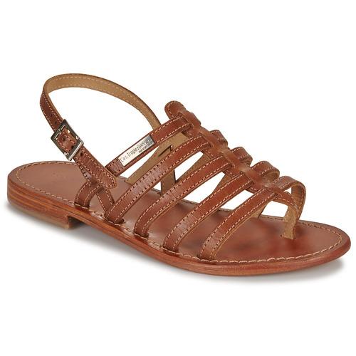 Pantofi Femei Sandale  Les Tropéziennes par M Belarbi HERISSON Tan