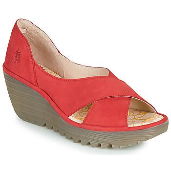 Pantofi Femei Sandale  Fly London YOMA Roșu