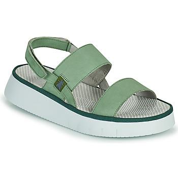 Pantofi Femei Sandale  Fly London CURA Verde