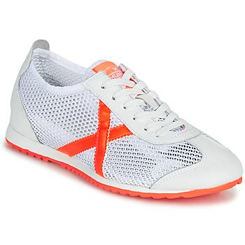 Pantofi Femei Pantofi sport Casual Munich OSAKA 456 Alb / Portocaliu