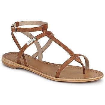Pantofi Femei Sandale și Sandale cu talpă  joasă Les Tropéziennes par M Belarbi HILAN Tan