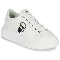 Pantofi Femei Pantofi sport Casual Karl Lagerfeld KAPRI KARL IKONIC LO LACE Alb