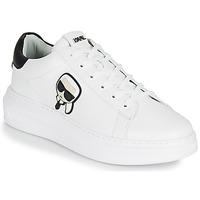 Pantofi Bărbați Pantofi sport Casual Karl Lagerfeld KAPRI MENS KARL IKONIC 3D LACE Alb