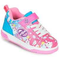 Pantofi Fete Pantofi cu Role Heelys DUAL UP X2 Roz / Albastru