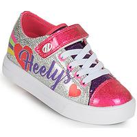 Pantofi Fete Pantofi cu Role Heelys SNAZZY X2 Argintiu / Multicolor