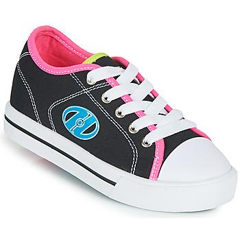 Pantofi Fete Pantofi cu Role Heelys CLASSIC X2 Negru / Roz / Albastru