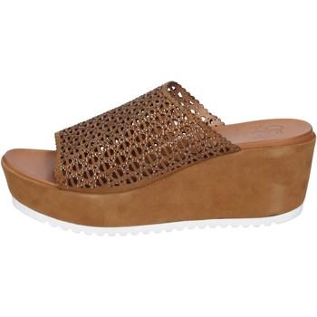 Pantofi Femei Sandale  Femme Plus BK620 Maro