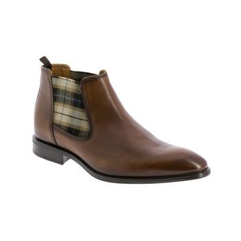 Pantofi Bărbați Ghete André CABALLO Coniac