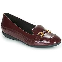 Pantofi Femei Balerin și Balerini cu curea Geox D ANNYTAH Bordo