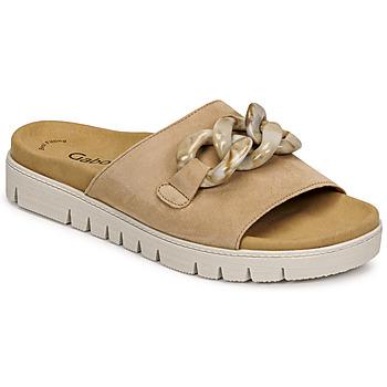 Pantofi Femei Papuci de vară Gabor 6374314 Caramel