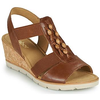 Pantofi Femei Sandale  Gabor 6575024 Maro