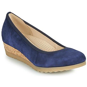 Pantofi Femei Balerin și Balerini cu curea Gabor 6264146 Albastru