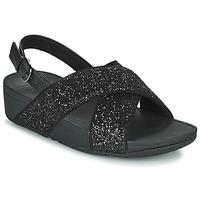 Pantofi Femei Sandale  FitFlop LULU Black