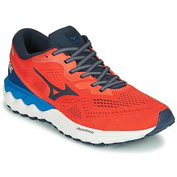 Pantofi Bărbați Trail și running Mizuno WAVE SKY RISE 2 Roșu