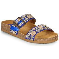Pantofi Femei Papuci de vară Desigual ARIES EXOTIC Albastru