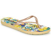 Pantofi Femei  Flip-Flops Desigual FLIP FLOP TROPICUBAN Auriu