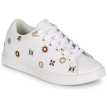 Pantofi Femei Pantofi sport Casual Desigual COSMIC JULIETTE Alb