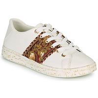 Pantofi Femei Pantofi sport Casual Desigual COSMIC EXOTIC LETTERING Alb