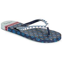 Pantofi Femei  Flip-Flops Pepe jeans RAKE DANI Albastru