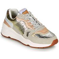 Pantofi Femei Pantofi sport Casual Pepe jeans HARLOW GOLDEN Bej / Auriu