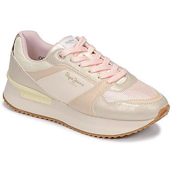 Pantofi Femei Pantofi sport Casual Pepe jeans RUSPER EVE Roz / Leopard