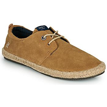 Pantofi Bărbați Espadrile Pepe jeans TOURIST C-SMART Bej