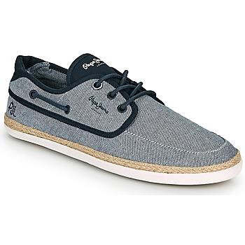 Pantofi Bărbați Espadrile Pepe jeans MAUI BOAT CHAMBRAY Albastru / Gri