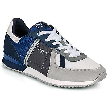 Pantofi Bărbați Pantofi sport Casual Pepe jeans TINKER ZERO 21 Gri / Albastru