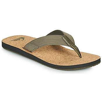 Pantofi Bărbați  Flip-Flops Quiksilver MOLOKAI ABYSS NATURAL Bej