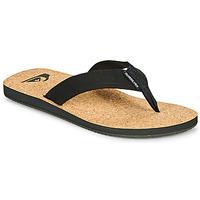 Pantofi Bărbați  Flip-Flops Quiksilver MOLOKAI ABYSS NATURAL Negru