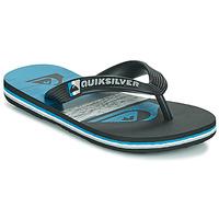 Pantofi Copii  Flip-Flops Quiksilver MOLOKAI PANEL YOUTH Negru / Albastru