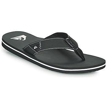 Pantofi Bărbați  Flip-Flops Quiksilver MOLOKAI ABYSS Negru