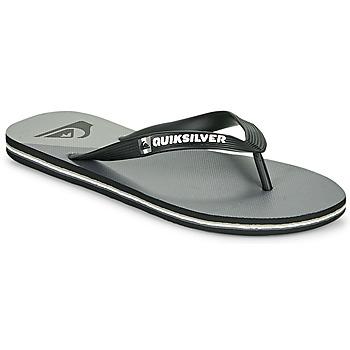 Pantofi Bărbați  Flip-Flops Quiksilver MOLOKAI NEW WAVE Negru / Gri