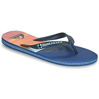 Pantofi Bărbați  Flip-Flops Quiksilver MOLOKAI PANEL Albastru / Portocaliu / Negru