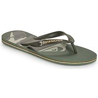 Pantofi Bărbați  Flip-Flops Quiksilver MOLOKAI PANEL Kaki