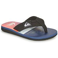 Pantofi Copii  Flip-Flops Quiksilver MOLOKAI LAYBACK YOUTH Albastru / Portocaliu / Negru