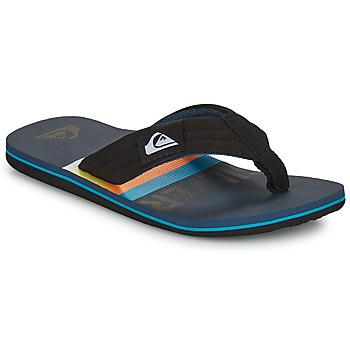 Pantofi Copii  Flip-Flops Quiksilver MOLOKAI LAYBACK YOUTH Negru / Albastru
