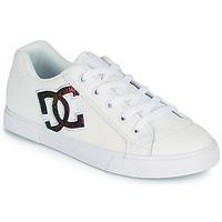 Pantofi Femei Pantofi de skate DC Shoes CHELSEA J Alb / Roz