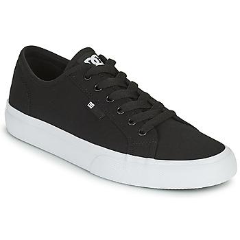 Pantofi Bărbați Pantofi de skate DC Shoes MANUAL Negru / Alb