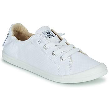 Pantofi Femei Pantofi sport Casual Roxy BAYSHORE III Alb