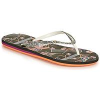 Pantofi Femei  Flip-Flops Roxy PORTOFINO III Negru / Print