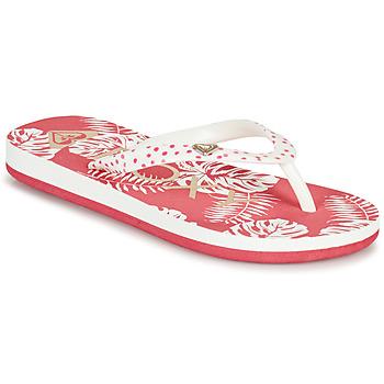 Pantofi Fete  Flip-Flops Roxy PEBBLES VII G Roz