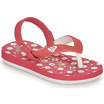 Pantofi Fete  Flip-Flops Roxy TW TAHITI VI Roz