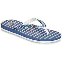Pantofi Fete  Flip-Flops Roxy PEBBLES VII G Albastru